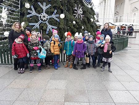 Kalėdinė išvyka į Vilnių