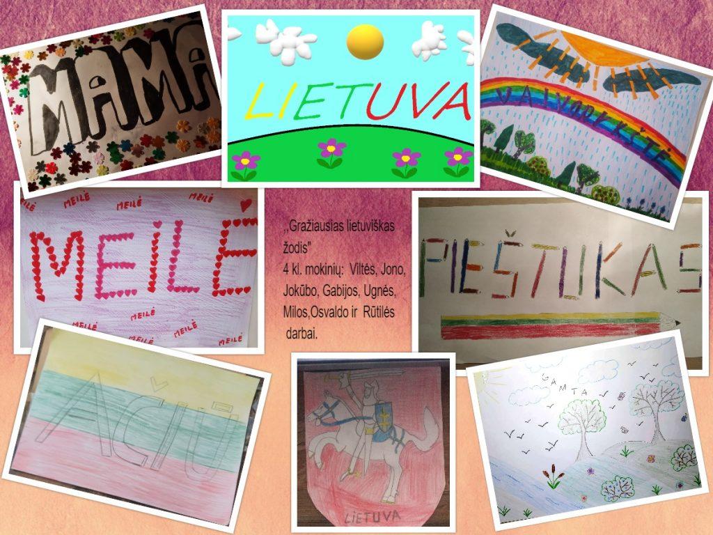 Gražiausias lietuviškas žodis